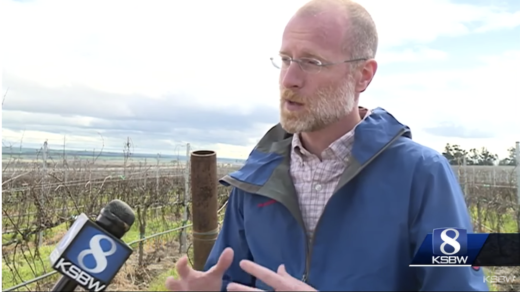 Watch: FCC Commissioner Brendan Carr tours Scheid Vineyard in Greenfield
