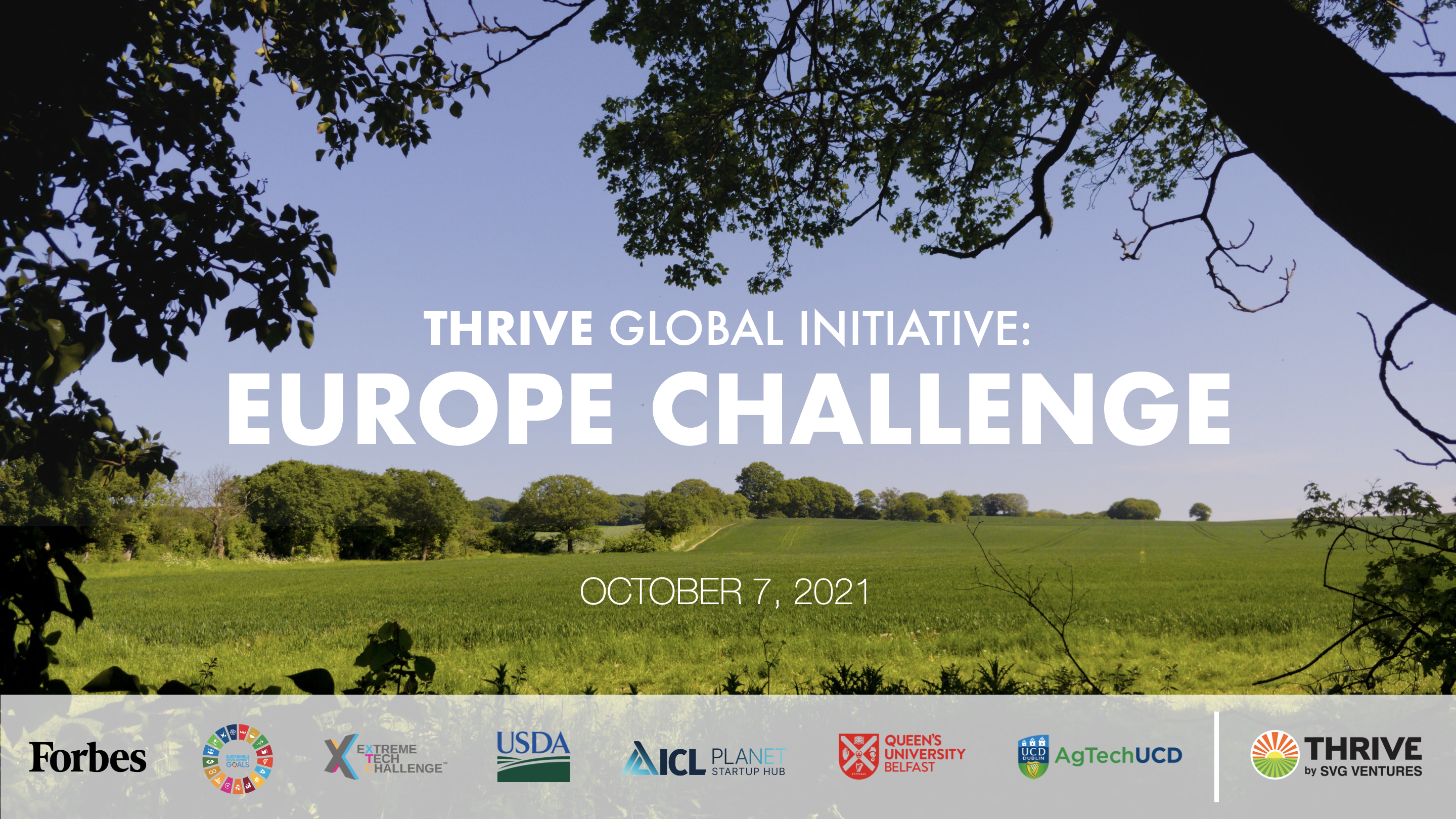 SVG Ventures | THRIVE announces partnership with ICL Planet Startup Hub on THRIVE Europe Challenge
